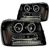 Anzo 111127 Chevrolet Trailblazer Black Projectors w/Halo...