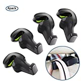 Bestech Pack of 4 Universal Car Vehicle Back Seat Headrest Hanger Holder Hooks