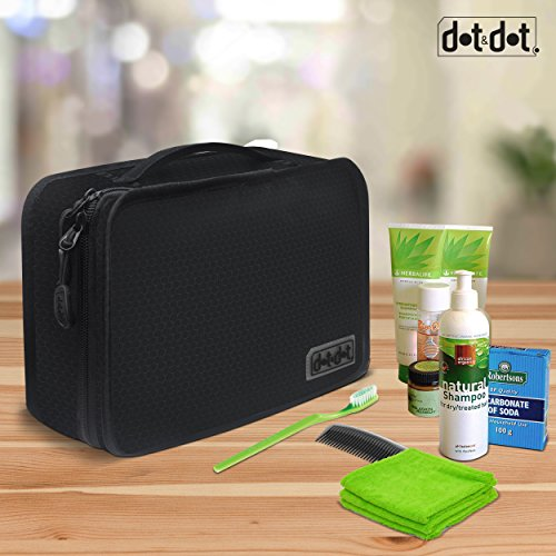dot dot hanging toiletry bag for men women and kids organizer case for. Black Bedroom Furniture Sets. Home Design Ideas