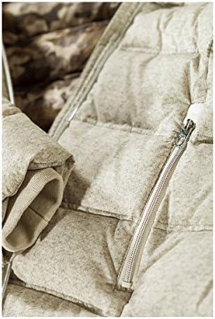 MILESTONE Damen Mantel Daunenmantel Steppmantel Wintermantel Sunstar Beige mit Fell-Kapuze Tailliert Gefüttert Winddicht in Micro-Dessinierung
