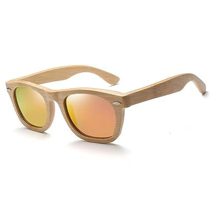 Gafas sol bambú y de Madera Americana Vidrios de Madera de ...