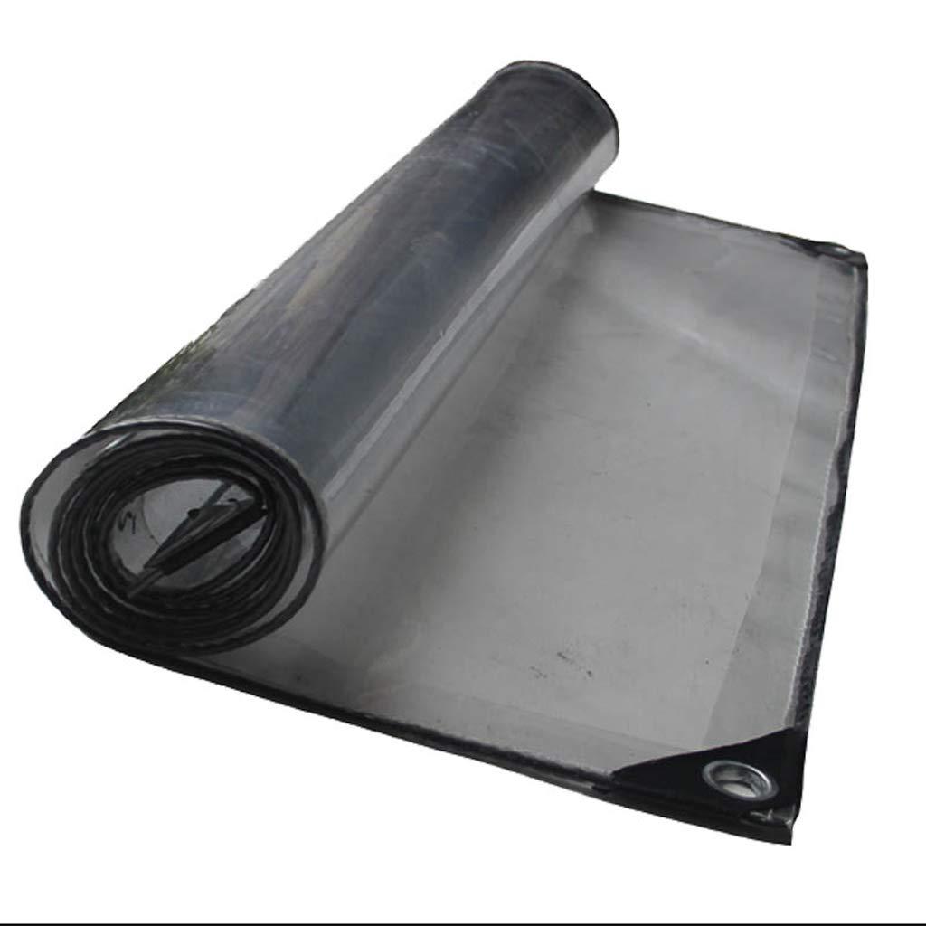 XY&CF-tarpaulin Transparentes Planenschuppen Transparentes Zelttuch, Verschiedene Größen 400G   M²