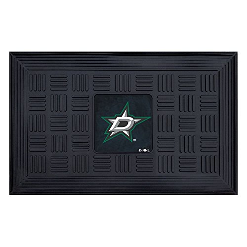 Fanmats 11491 NHL Dallas Stars Vinyl Medallion Door - Star Mat All