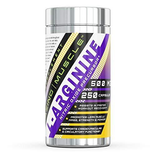 Amazing Muscle L Arginine Essential Capsules product image