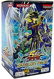YuGiOh Trading Card Game 5D's Duelist Pack Yusei Fudo Booster Box [Toy] [Toy]