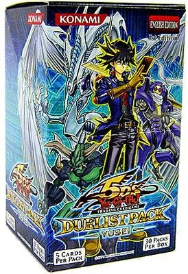 YuGiOh Trading Card Game 5Ds Duelist Pack Yusei Fudo Booster Box [Toy] [Toy