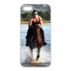 Iphone 5,5S 2D Customized Hard Back Durable Phone Case with Zac Efron Image