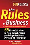 The Rules of Business, , 0385516312