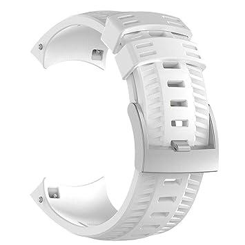 Silicona correa reloj banda para muchos colores para hombre mujer ...