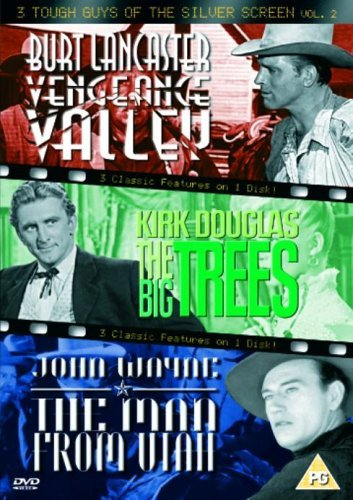(3 Tough Guys Of The Silver Screen - Vol. 2 - Vengeance Valley / The Big Trees / The Man From Utah [DVD] by John Wayne)