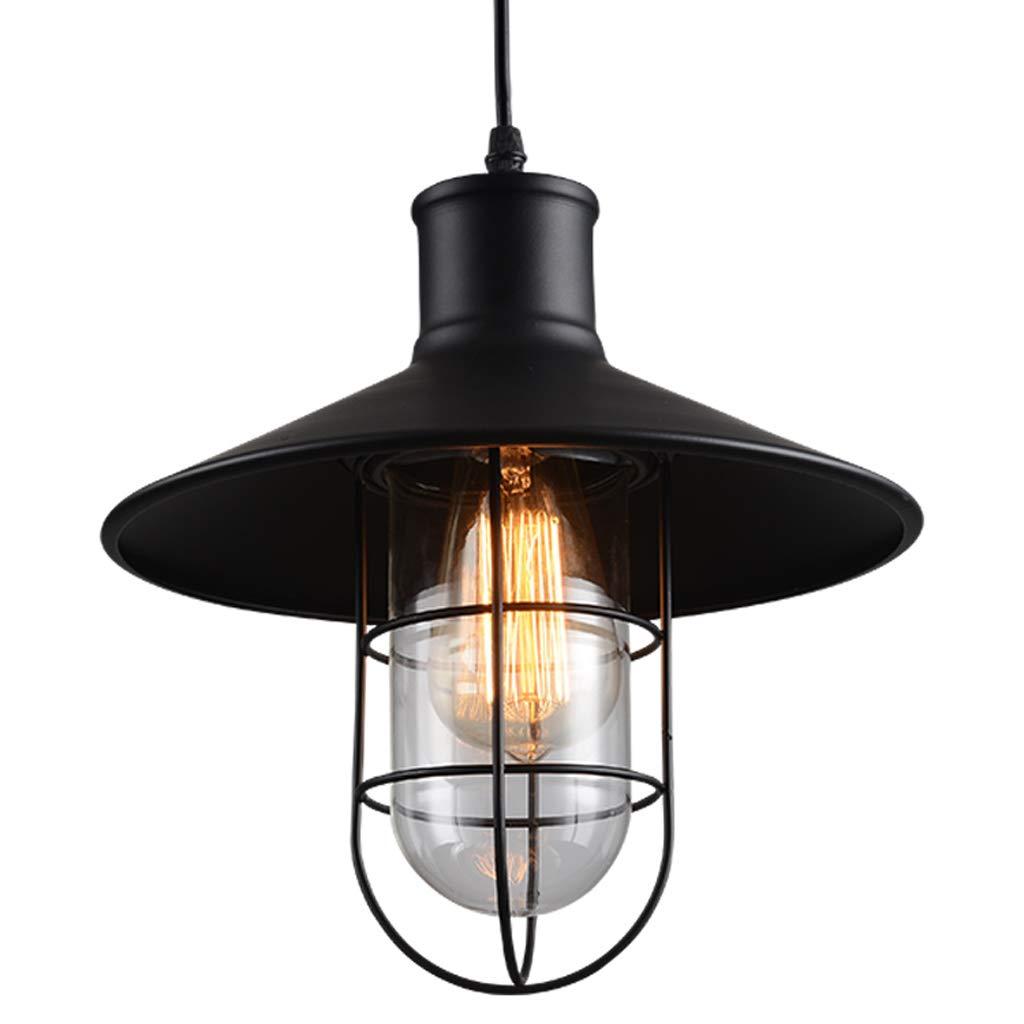 DIAODENG Kronleuchter Decke Lightt Iron - D1189 Amerikanisches Landhausstil Retro Restaurant im Stil des Hot Pot-Restaurants Wine Cafe Single Head Lamps