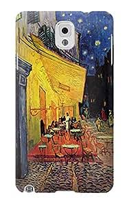 E0929 Van Gogh Cafe Terrace Funda Carcasa Case para Samsung Galaxy Note 3