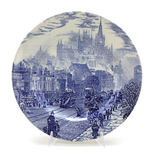 - London Town by English Ironstone Tab. Ltd., Dinner Plate