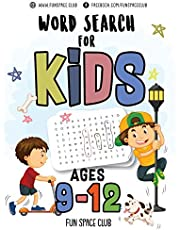 Word Search for Kids Ages 9-12: Word search puzzles for Kids Activity books Ages 9-12 Grade Level 4 5 6 7