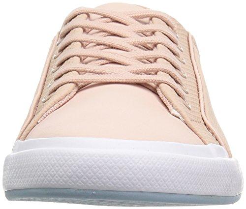 Lacoste Women's Lancelle 6 Eye Sneakers Natural/Light Blu Leather cheap under $60 cheap top quality with credit card L4dWMO