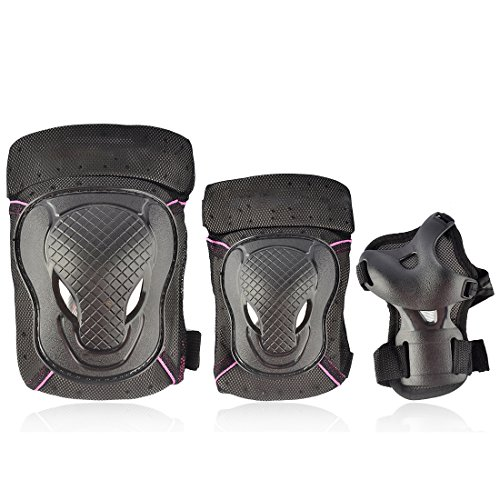 Kids Protective Gear, iTECHOR M Size 6Pcs Child Sport Safety Protective Body Gear Set for Skating Bicycling Joint Protection
