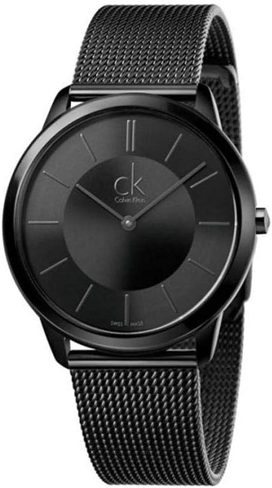 Calvin Klein Reloj Analogico para Hombre de Cuarzo con Correa en Acero Inoxidable K3M214B1