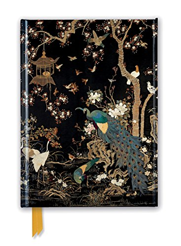 Ashmolean Museum: Embroidered Hanging with Peacock (Foiled Journal) (Flame Tree Notebooks)