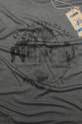 Pioneer 5835-2969-634 Herren T-Shirt Druck Lightkhaki