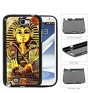 Ancient Egyptian Pharaoh King Tutankhamun Hard Plastic Snap On Cell Phone Case Samsung Galaxy Note 2 II N7100