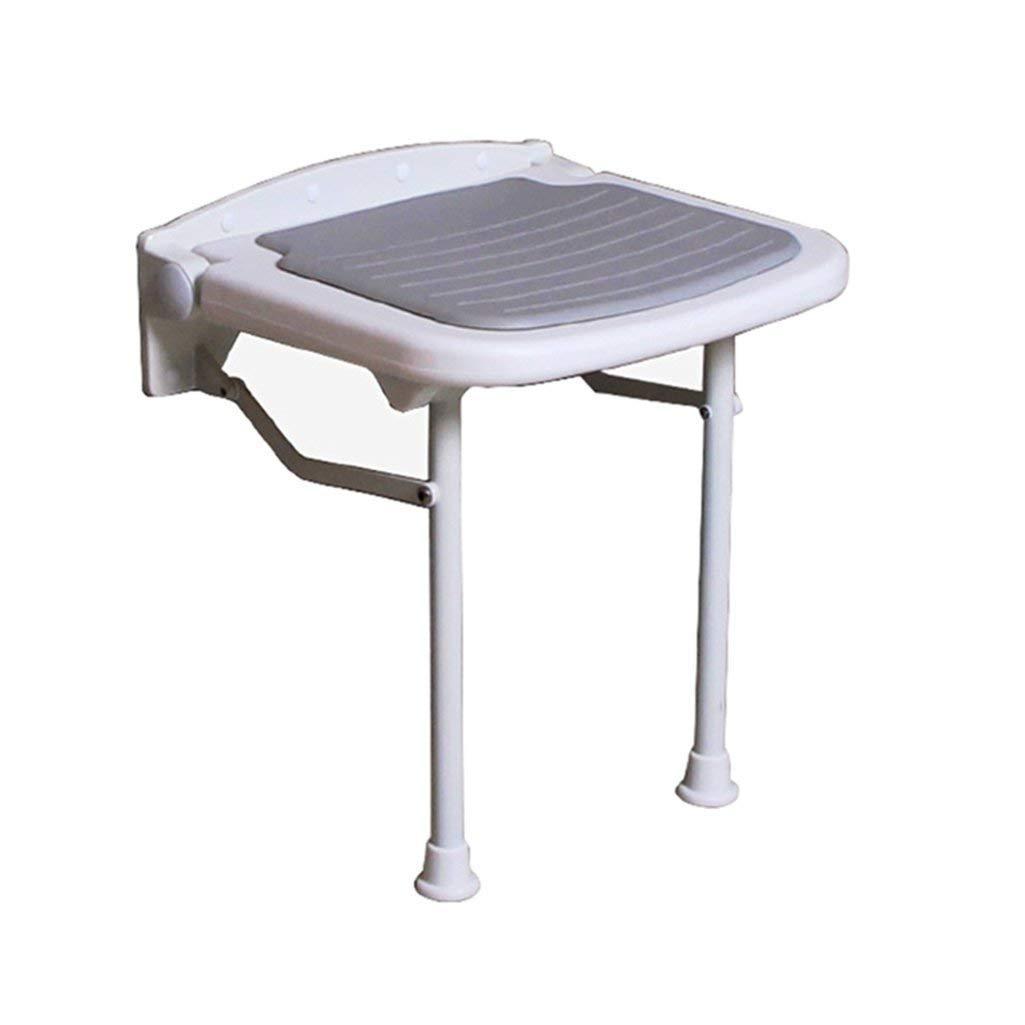 折り畳み可能な壁のシャワーのスツールウォールマウントされたシャワーシートスツール折りたたみ式の変更靴高齢者用/バリアフリー用の椅子250kg(3サイズ) (サイズ さいず : 47.5cm) 47.5cm  B07FJMPL6B