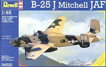 Revell 04520 - Maqueta de avión JAF B-25 Mitchell (escala 1 ...