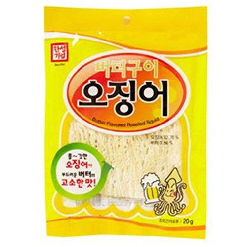 Butter grilled squid (buck) 7.04 OZ x 10Set / Gift / Souvenir / Snack / Snack / Aji / Gift / Zip / ConveniencePurified Honey Butter Squid 1.06OZ x 10Set Sweet Squid