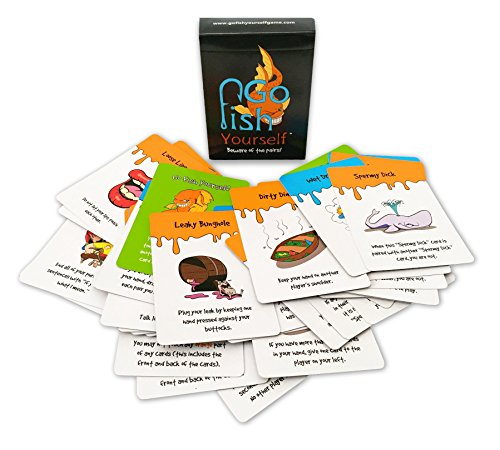 Amazon go fish yourself party game toys games solutioingenieria Image collections