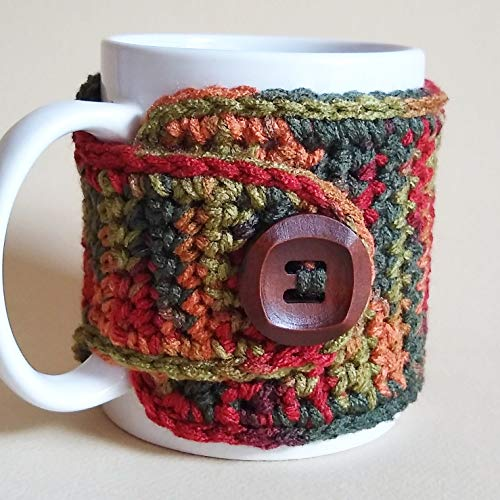 Fall Coffee Mug Cozy Sleeve by Nandy's Nook