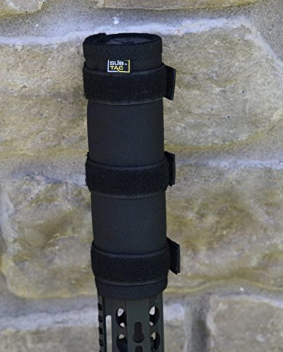 sub-tac Alpha Suppressor Cover 8 inch Black