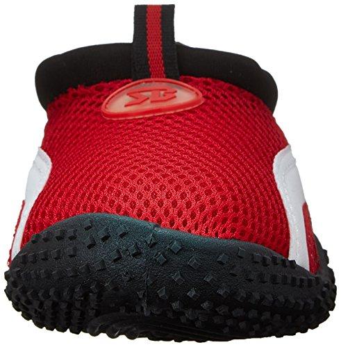 Aqua Women's Chaussure Colors Available in Socks 6 Red Water Shoes aquatique E1Uq1pr