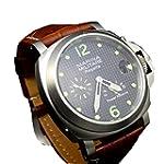 Parnis 44mm Power Reserve automatic mechanical movement Luminous men s Wrist Watch