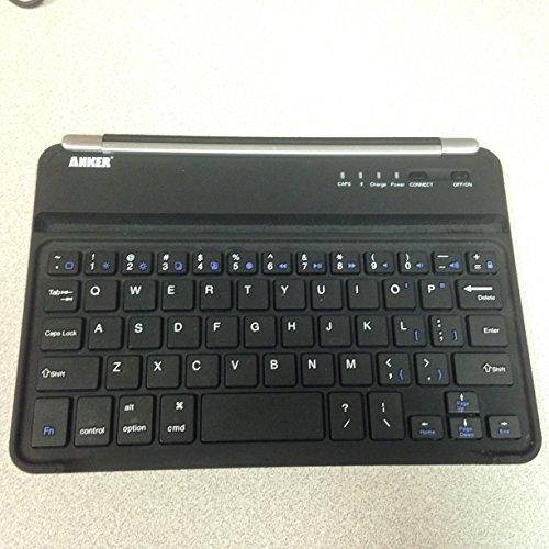 Anker Ultra-Slim Bluetooth Wireless Aluminum Keyboard & Cover for iPad mini 3 / mini 2 / iPad mini