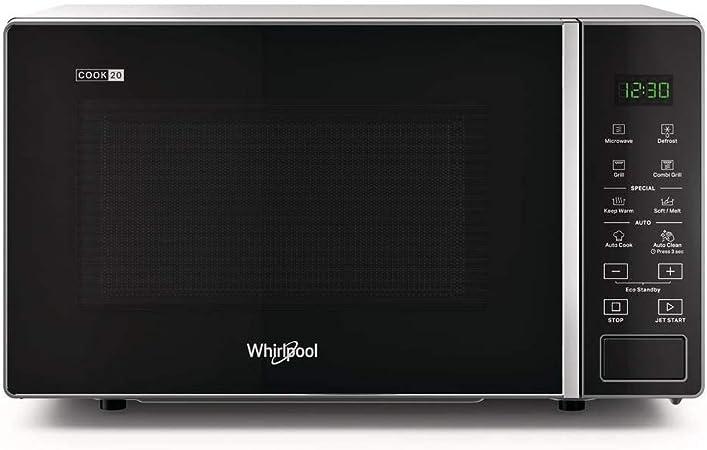 WHIRLPOOL Forno Microonde Combinato con Grill Potenza 800