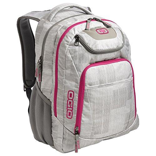 Ogio Business Excelsior Laptop Backpack/Rucksack (Pack of 2) (One Size) (Blizzard/Pink)