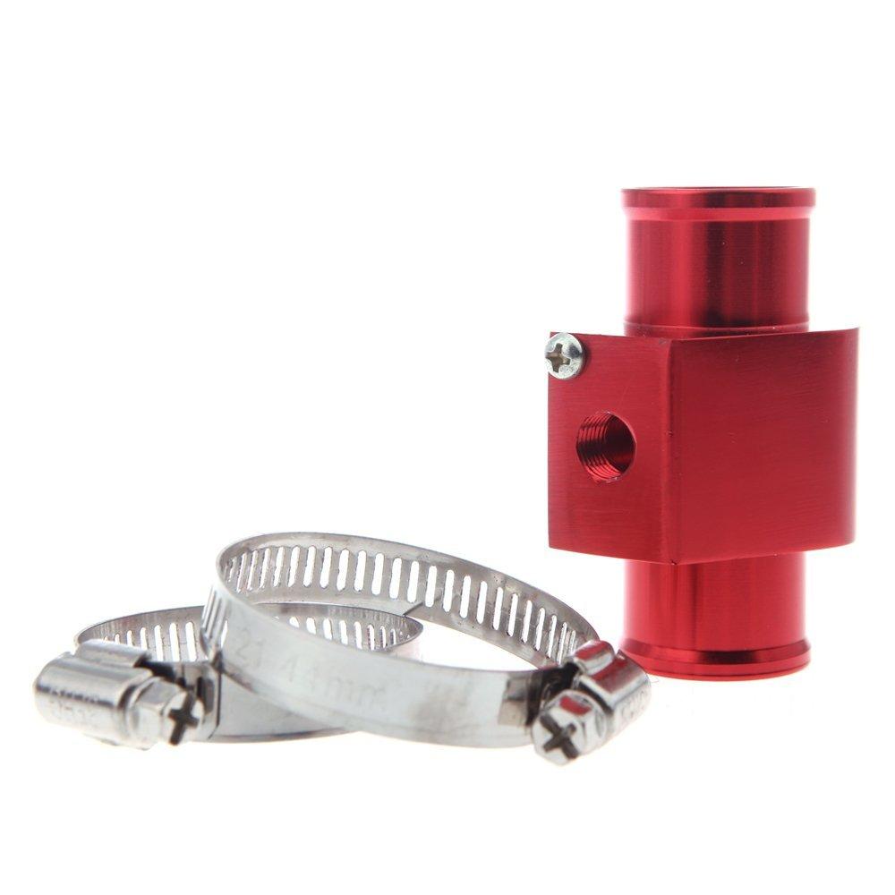 KKmoon Adaptador Manguera de Radiador 34mm Medidor Temperatura de Agua Sensor Com/ún de Pipa