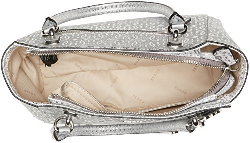 H Hobo L Bags cm bandoulière Sacs femme Argent x W 13x19x29 Guess Silver UfwqxPP