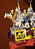 Walt Disney World 40th Anniversary Metal Ornament NEW