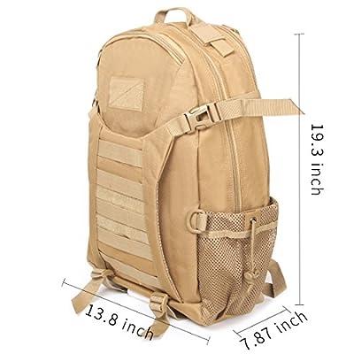 Dream Maker Outdoor 40L Military Rucksacks Tactical Backpack Assault Pack Combat Backpack Trekking Bag