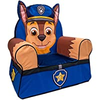 Marshmallow Paw Patrol Comfy Character Chair - Chase