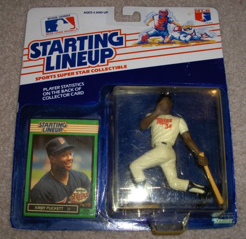 1989 Kirby Puckett MLB Starting Lineup Figure ()