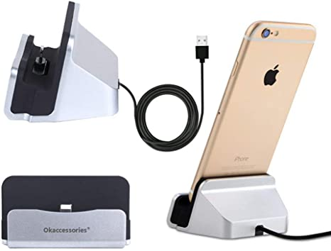 Desktop Charging Stand Station Cradle Charger for Apple iPhone iPad