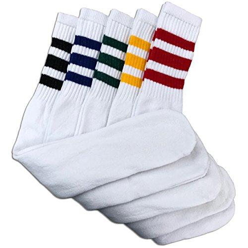 - Men's Tube Socks Assorted Stripe Color 24
