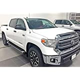 iBoard Running Boards Style Custom Fit 2007-2018 Toyota Tundra CrewMax Pickup 4-Door (Nerf Bars | Side Steps | Side Bars)