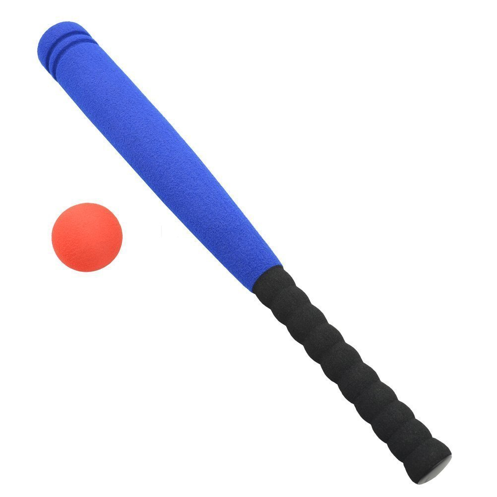 amazon com safe foam kids baseball bat toys indoor soft t bat