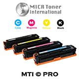 MTI © PRO Canon 118 | #118 Compatible Toner Set (CMYK) for Canon ImageClass and Satera Printers: LBP7200CDN, LBP7660CDN, MF8350CDN, MF8380CDW, MF8580CDW, Office Central