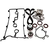 SCITOO Engine Timing Part Belt Set Timing Belt Kits, fit Ford Mazda 626 MX-6 Protege Replacement Timing Tools Water Pump Valve Cover Gasket Kit FS