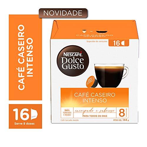 Nescafé Dolce Gusto Café Caseiro Intenso 16 cápsulas 144g