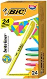 #7: BIC Brite Liner Highlighter, Chisel Tip, Assorted Colors, 24/Set (BL241AST)