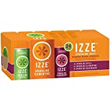 IZZE Sparkling Juice, 3 Flavor Variety Pack 8.4-Ounce Cans Pack of 24 (Pack of 5)